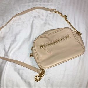 nude/taupe crossbody bag
